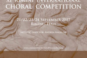 Rimini International Choral Competition 21 – 24 Settembre 2017